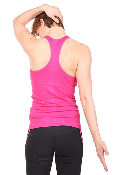neck stretch to the side